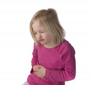 دل درد کودک همراه با تب